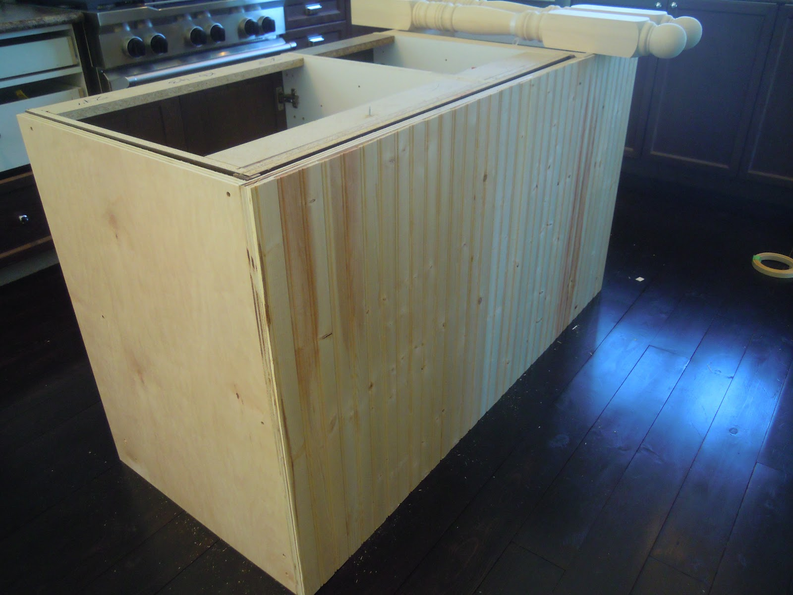 Making Base Cabinets Kitchen with Island