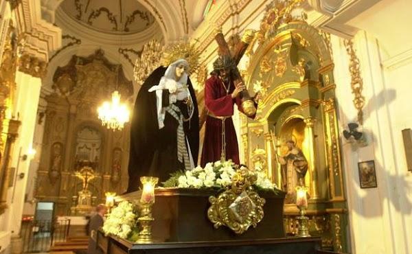 El IMV subvencionará la reparación de la iglesia del siglo XVIII que es sede de la Cofradía de Viñeros de Málaga