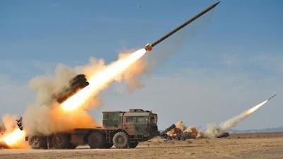 البيان الثامن للقيادة العامة للجيش بقصف 68 هدفا شمال ووسط سيناء بالمدفعية