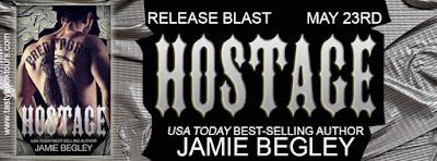 """Hostage"" by @Jamie_Begley - Release Blast & Book #Giveaway @Tastybooktours"