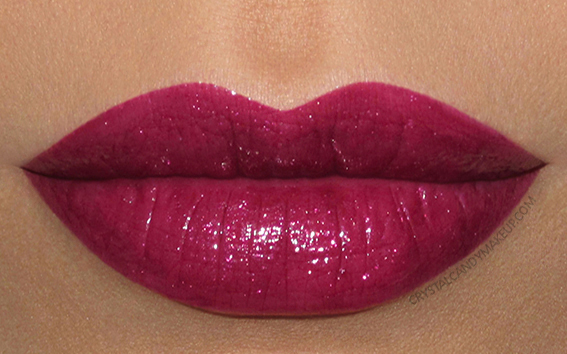 Buxom Shimmer Shock Lipstick Swatch Supercharged