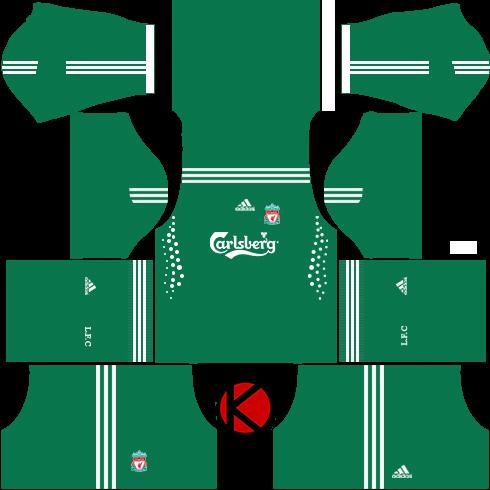 Liverpool Kits 2009 2010 - Dream League Soccer 2017 - Kuchalana 44f426b98