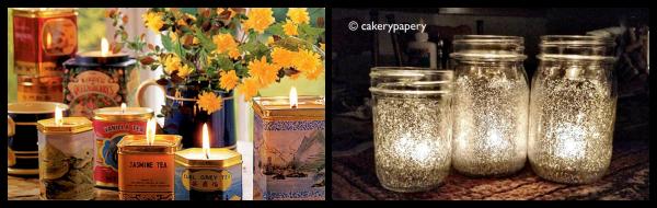 DIY Gift Idea: Tin or Jar Candles