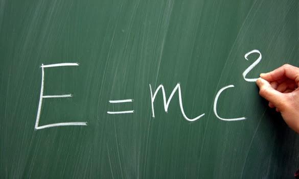 ecueción de Einstein que relaciona la masa y la energía