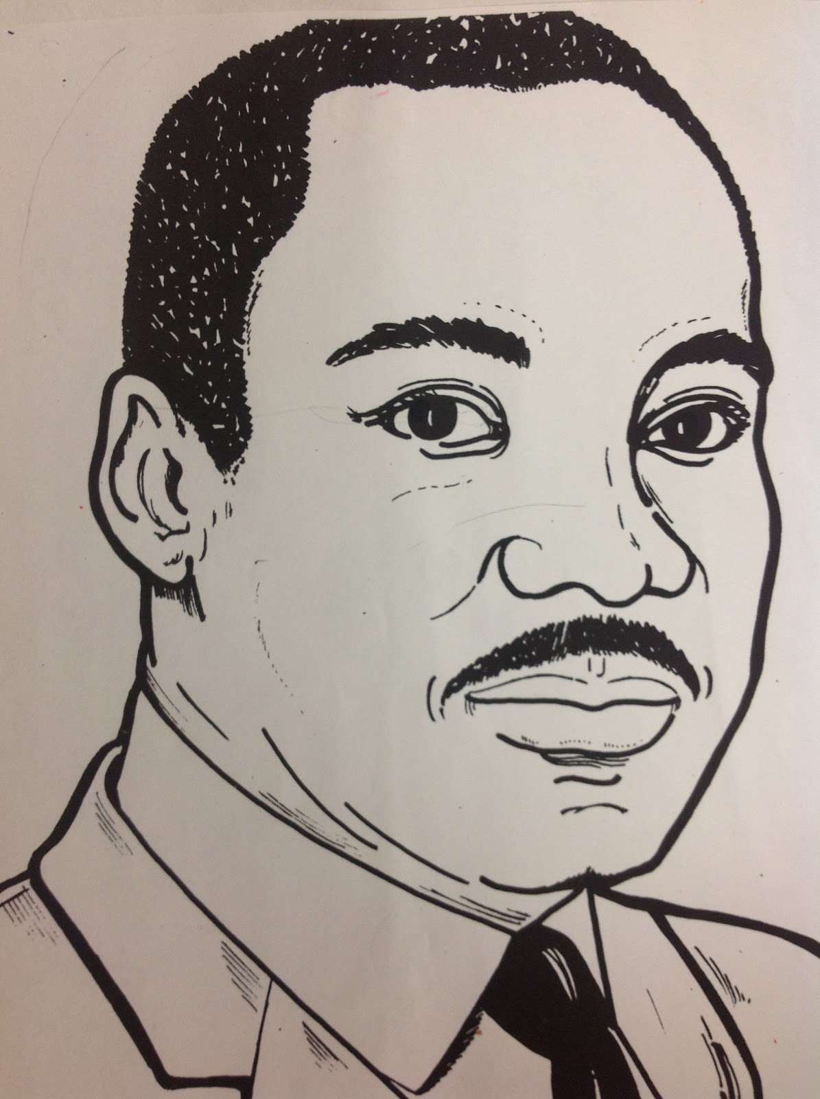 It is an image of Inventive Martin Luther King Drawing