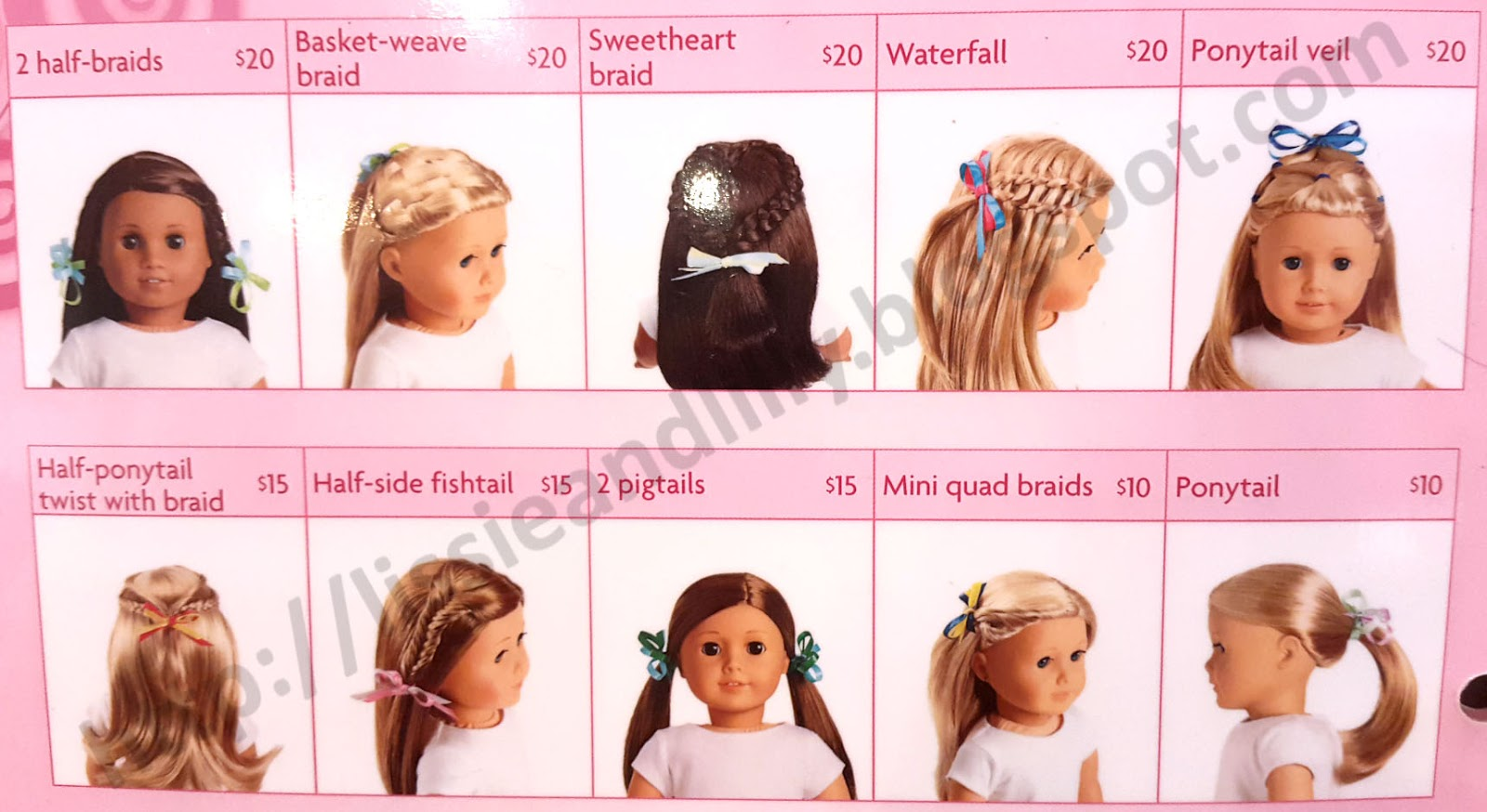 Hairstyles For Ag Dolls With Layered Hair