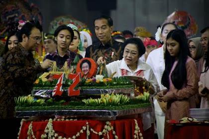 Jokowi Sering Diserang Hoax, Megawati: Kalau Nggak Suka, Datang Dong!