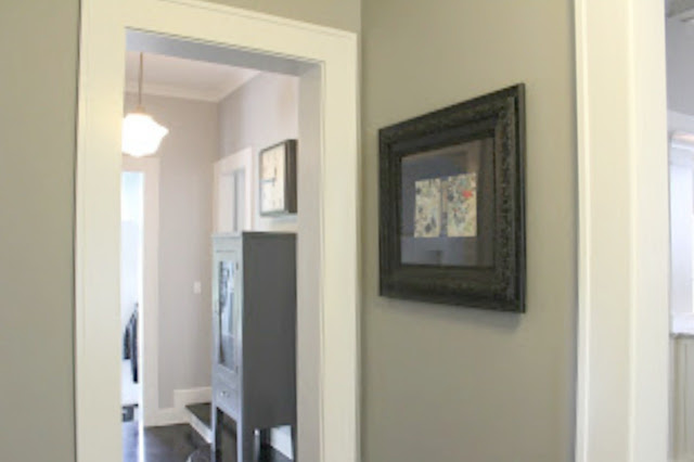 Framed art collage by Michele of Hello Lovely Studio in modern farmhouse