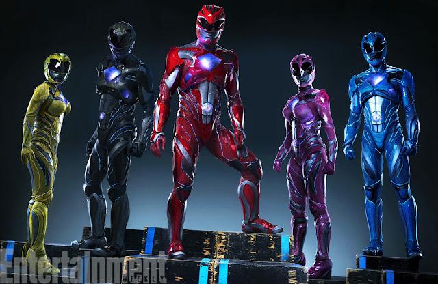 Así será el nuevo y modernizado look de 'Power Rangers'