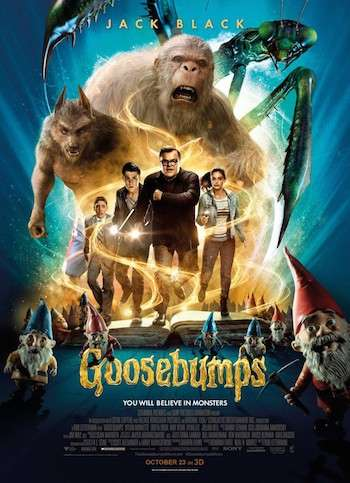 Goosebumps 2015 Dual Audio Movie Download