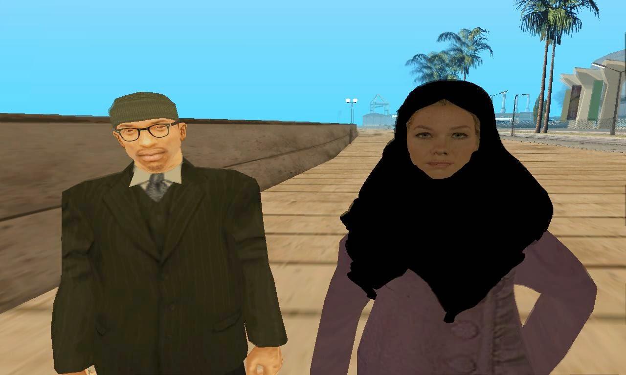 Gta Sa Skin Mod Hijab Girl - Gta San Andreas City-9540