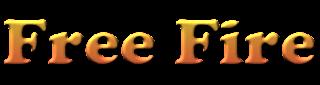 logo free fire 3d