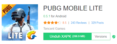 Cara Main Game PUBG Mobile di Hp Ram 1 GB