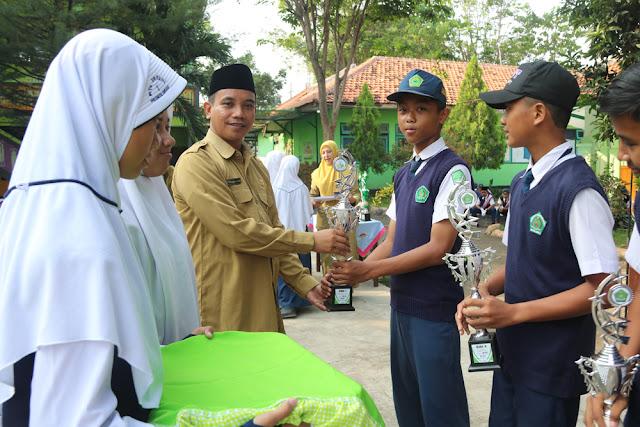 Tim Pramuka MTsN 1 Probolinggo Berhasil Borong Juara di Ajang LKKPP IV 2018