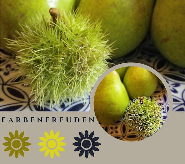Birnen/Garten/Maronen