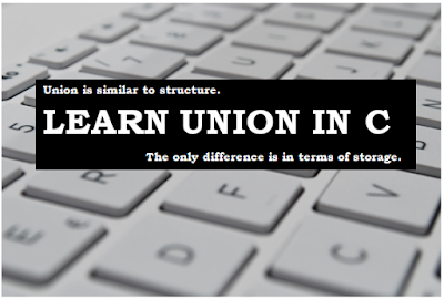 Union in C