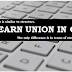 LEARN UNION IN C : WITH VIDEO