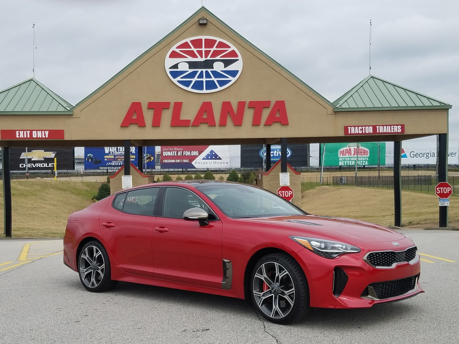 Jeffcars Com Your Auto Industry Connection 2018 Kia Stinger Gt2 Rwd