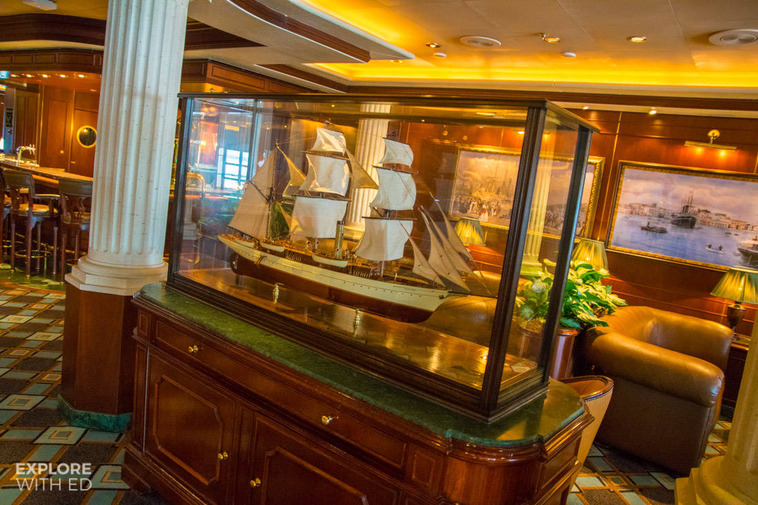 Nautical Themed Wheelhouse Bar Caribbean Princess