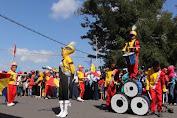 Wabup Lepas Peserta Lomba Drum Band dan Gerak Jalan Indah Di Selayar