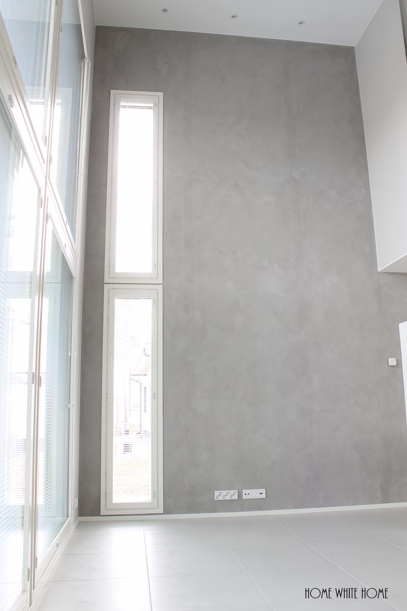 Home White Home Suunnittelukohteeni Kalkkimaalia ja