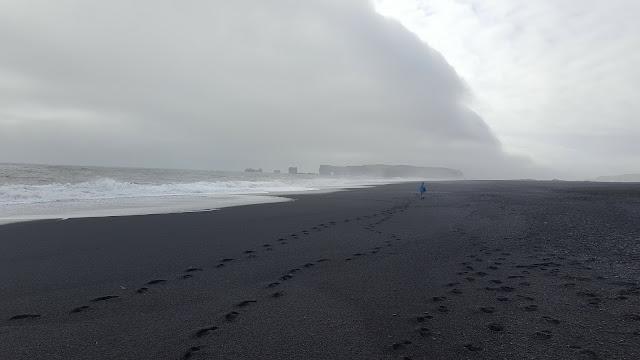 Iceland road trip Reynisfjara beach black beach