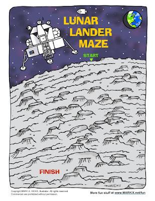 http://www.markix.net/fun/lunar_lander_maze.html
