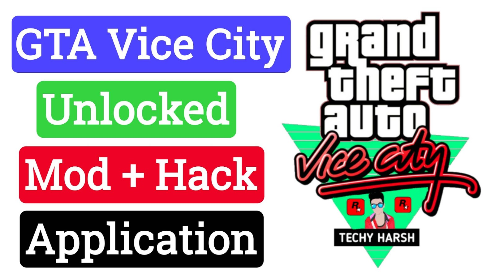 GTA VICE CITY Mod + Unlocked APK Download - Techy Harsh