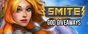 SMITE Free God Giveaways