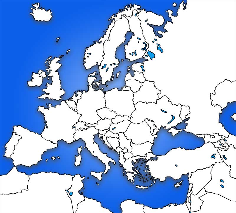 image: Europe Map Blank Outline