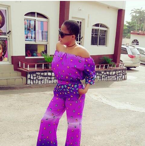 Toyin Aimakhu's wrong fashion