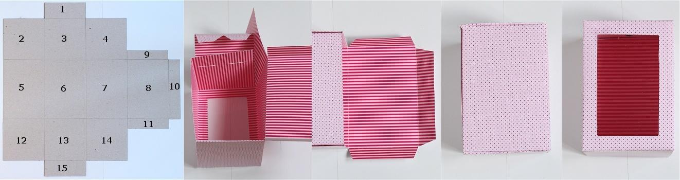 DIY/Tutorial Cupcake-Geschenkbox - Cupcake-Geschenkschachtel Anleitung 7
