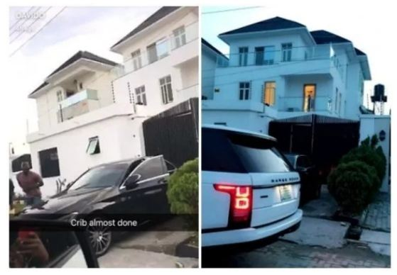 See The Cost Of Davido House In Lekki and What The Inside of The House Looks Like (Photos + Video)