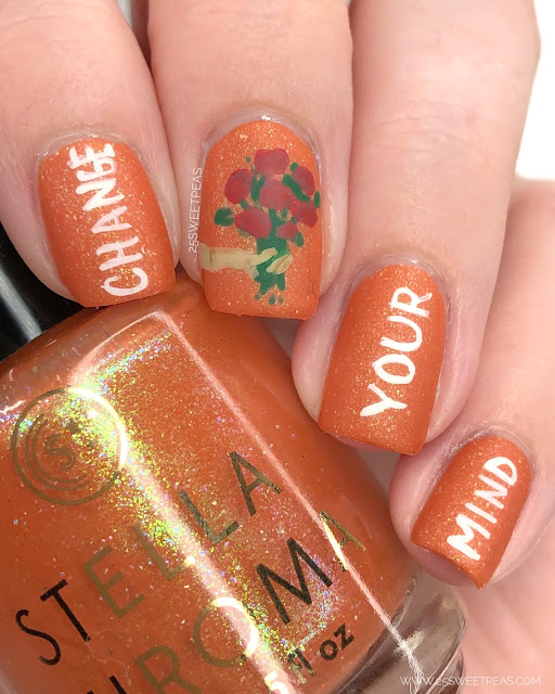 Dillon Francis & lovelytheband Change Your Mind Nail Art