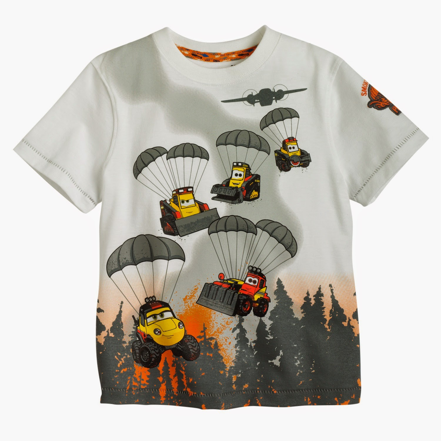 Limited Edition Disney Jumping Beans #FireAndRescue Smokejumper Parachute Tee at Kohl's | www.3Garnets2Sapphires.com #MagicAtPlay