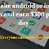 How to make an android or ios app and earn $300 per day 2018.
