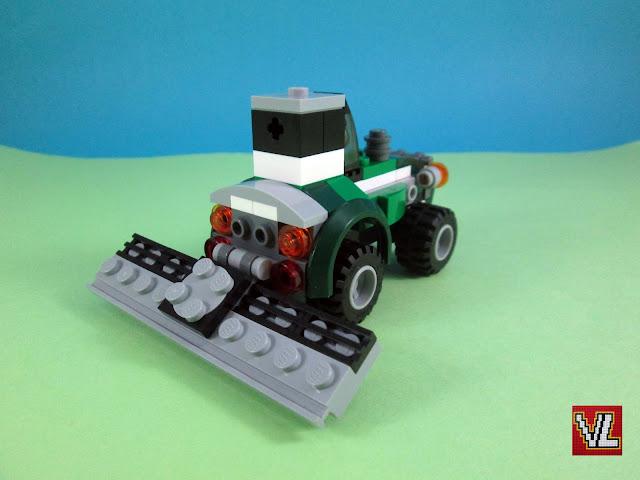 Set LEGO Creator 31043 Chopper Transporter - Modelo 2 - Trator