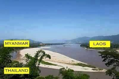 Myanmar-Thailan-Laos-Border