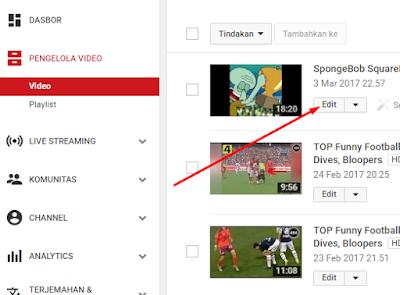 Cara Menambah Link Anotasi End Screen di Akhir Video Youtube 21