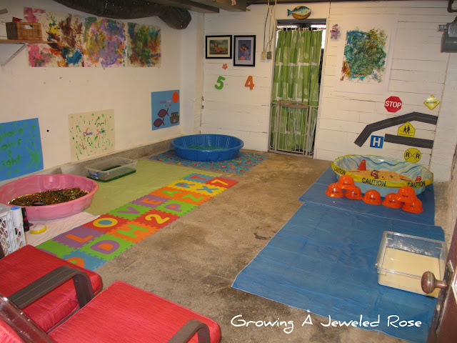 group sensory play