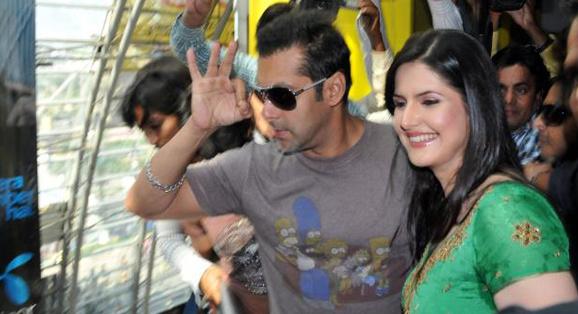 Salman Khan and Zareen Khan