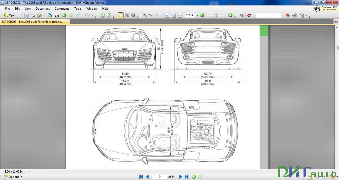Audi R8 Vehicle Introduction