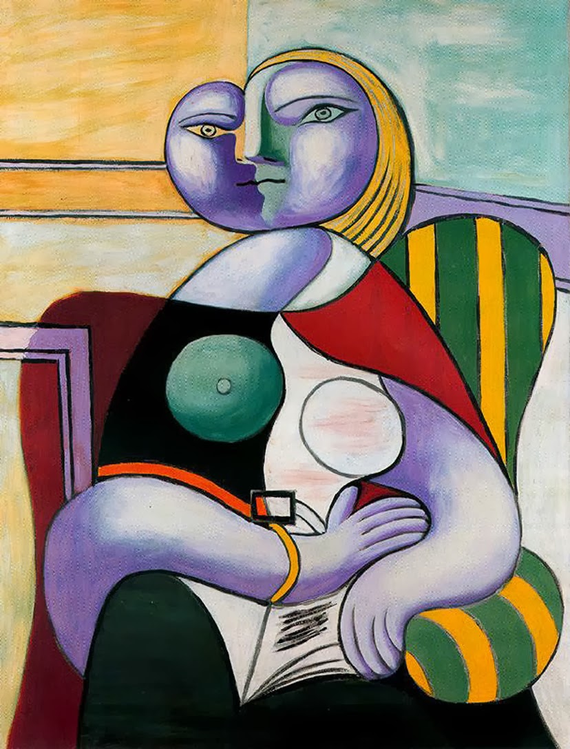 Pablo Picasso - Reading, 1932