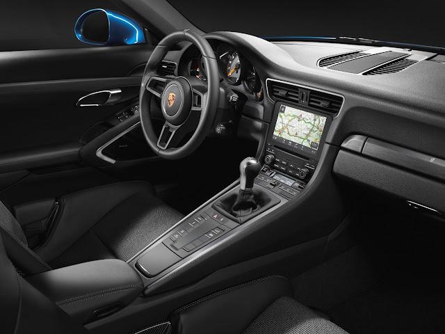 New Porsche 911 GT3 in inida interior