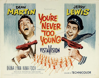Cartel: Un fresco en apuros (1955) You're Never Too Young