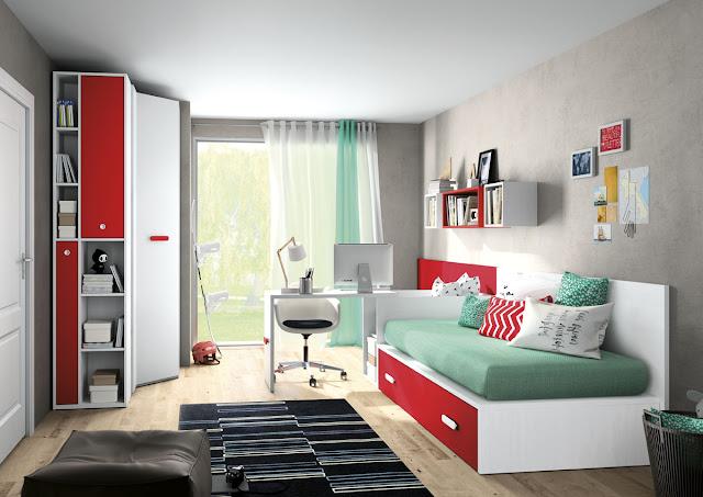 habitaciones juveniles Valencia adolescentes