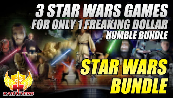 Star Wars Bundle, 3 Star Wars Games, For Only 1 Freaking Dollar, Humble Bundle