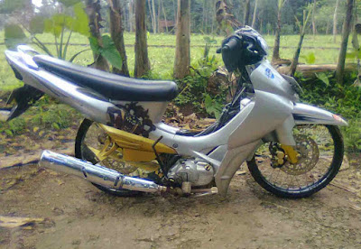Modifikasi Motor Jupiter Z Ceper