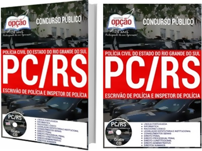 Apostila Concurso Polícia do Civil do Rio Grande do Sul 2018