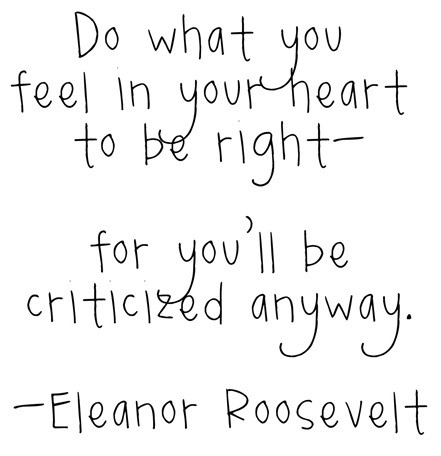 The Crafty Housewife Sunday Quote